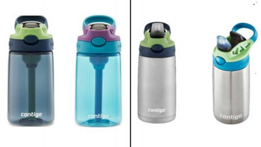 Contigo recalls 5.7-million kids water bottles due to choking hazard