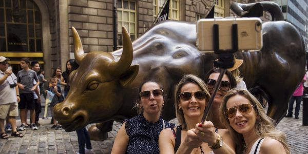 The stock-market impact of millennial investors has gotten overblown amid declining trading volumes - and it's actually the older crowd that's exerted more influence, JPMorgan says