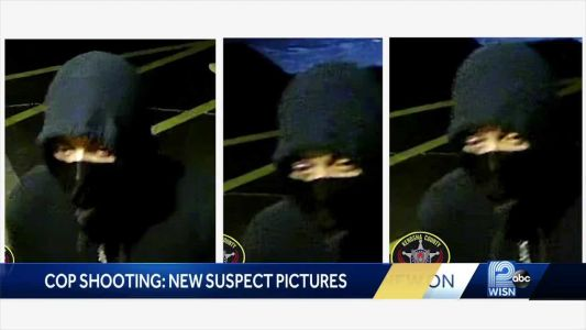 New photos released of suspect wanted in shooting of Racine officer