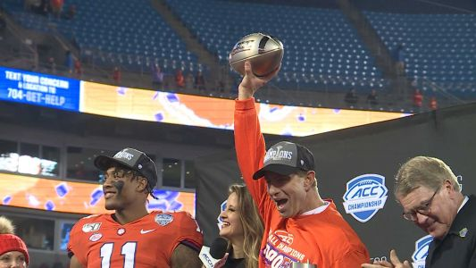 No. 3 Clemson set to play No. 2 Ohio State in College Football Playoff's Fiesta Bowl
