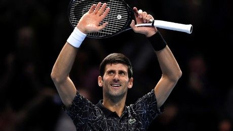 ATP Finals: Serbia's Djokovic breezes into final after straight-sets win