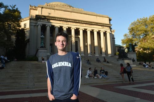 Parkland shooting survivor Cameron Kasky is 'excited' to be going to Columbia University