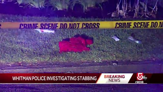 Person stabbed in Whitman