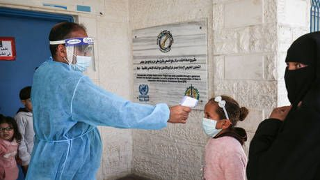 Covid jabs meant for health workers ended up in the arms of Palestinian VIPs and footballers, officials admit