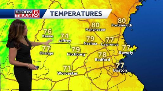 Video: Temps in 80s before cooler Memorial Day weekend