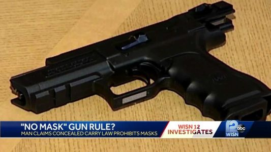 12 News Investigates: Can CCW permit holder legally wear face mask & carry gun?