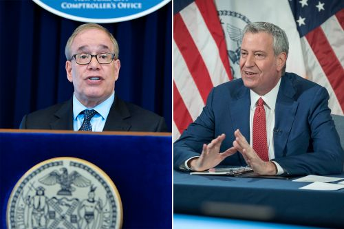 De Blasio, Stringer hail city pension divestment from fossil fuel firms