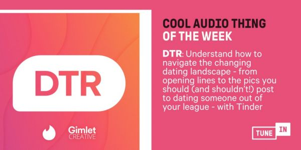 Cool Audio Thing Of The Week: Live A Better Life By Reading Strangers' Tinder Profiles