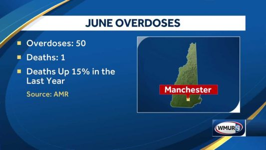 AMR releases June overdose data for Manchester, Nashua
