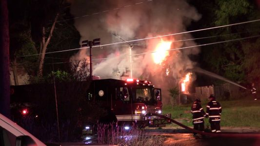 Fireworks spark fire that destroyed home in New Castle