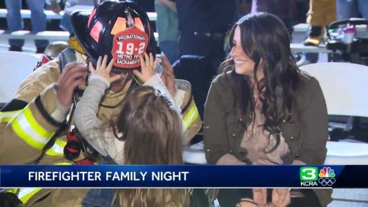 Sacramento fire district hosts first-ever family night for recruits