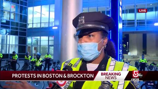 Boston officer on protesters: 'You still have to show them love'