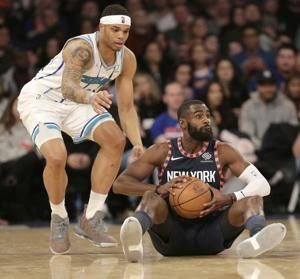 Walker, Lamb lead Hornets to 119-107 win over Knicks