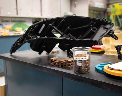 Ford is making car parts with McDonald's coffee