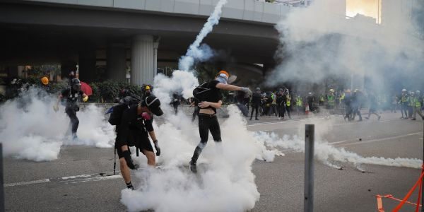 Over 10,000 tear gas canisters have been been fired in Hong Kong's vicious protests, and it could have long-term consequences for the city's health
