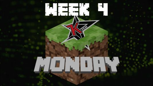 Minecraft Monday Week 4: Live stream, teams and results