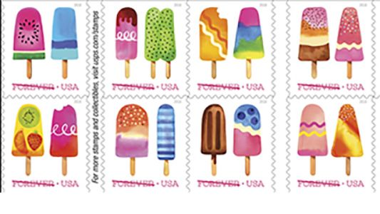 US Postal Service issuing its first-ever scratch-and-sniff stamps