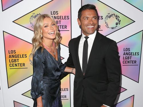 Kelly Ripa responded to criticism that she 'looks too old' for husband Mark Consuelos - even though they're the same age
