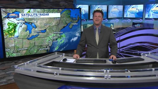 Watch: Cooler day before heat wave starts