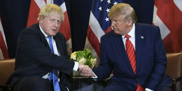 Boris Johnson is trying to keep his distance from Donald Trump amid fears the US President could blow up his election campaign