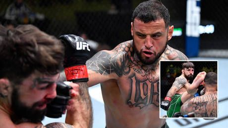 'I used to be great': UFC wildman Mike Perry faces uncertain future after busting nose, enduring mockery for latest defeat