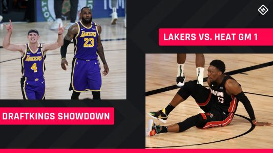 NBA Finals DraftKings Picks: NBA DFS lineup advice for Game 1 Lakers-Heat Showdown tournaments