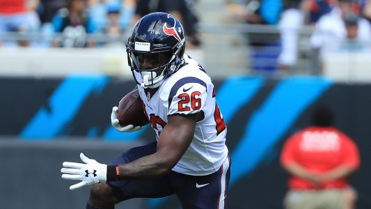 Texans RB Lamar Miller questionable to return with ankle injury