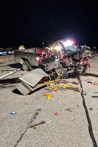 Police sergeant, wife, killed in wrong-way highway crash