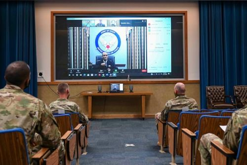 CSAF visits Kirtland AFB virtually, talks diversity and inclusion