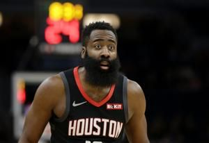 Harden scores 49 points, taking career-high 41 shots