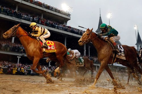 All Kentucky Derby bets are off for now