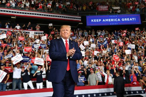 Why thousands of Americans come together to hear Trump speak