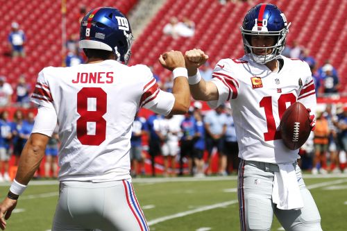 Eli Manning doesn't miss Giants days like this one