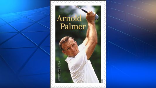 Arnold Palmer to be recognized by U.S. Postal Service with stamp in 2020