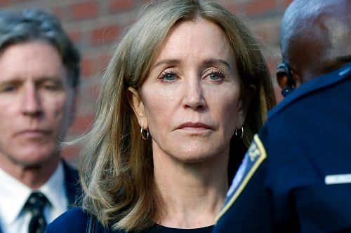 Felicity Huffman wants passport back as supervised release is set to end
