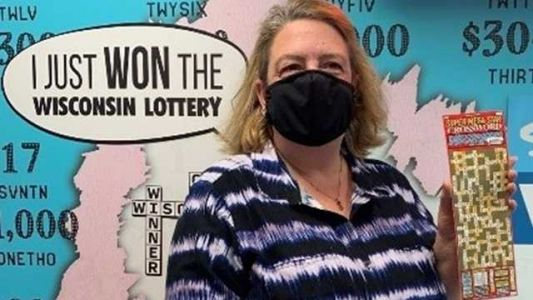 Wisconsin woman's $25,000 lottery prize actually worth $500,000