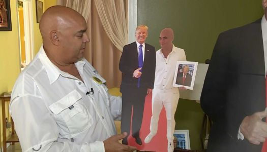 Florida man told he can't bring President Trump cutout to dialysis appointment