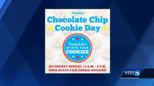 Celebrate Chocolate Chip Cookie Day with a bucket at the fairgrounds