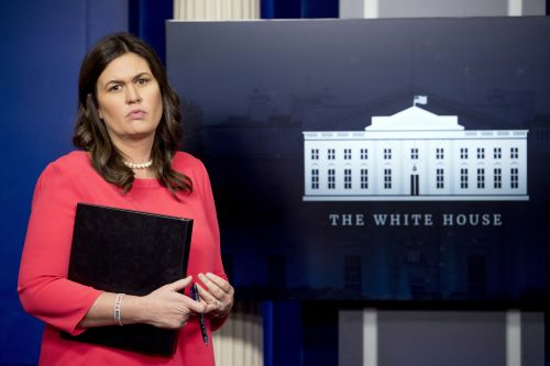Sarah Sanders says she was kicked out of restaurant because she works for Trump