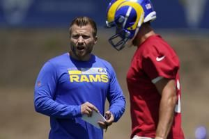 McVay in better mood, says he's better coach with Stafford