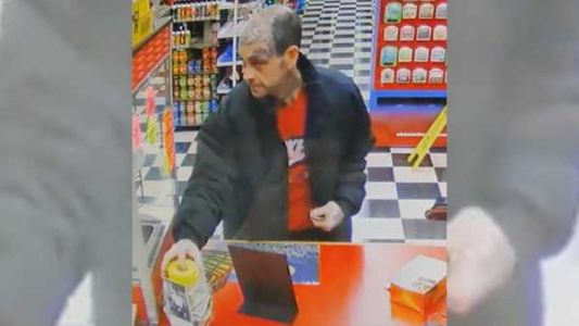Man accused of stealing donation jar for disabled veteran arrested