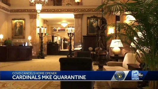 Cardinals in quarantine at Pfister Hotel