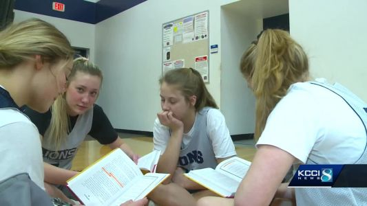 Team turns basketball practice in book club, makes State