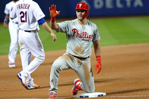 Rhys Hoskins gets his revenge as Phillies deny Mets sweep