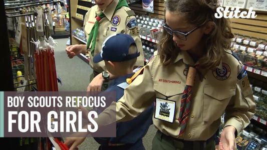 Girls, families jump-start new opportunities with Boy Scouts change