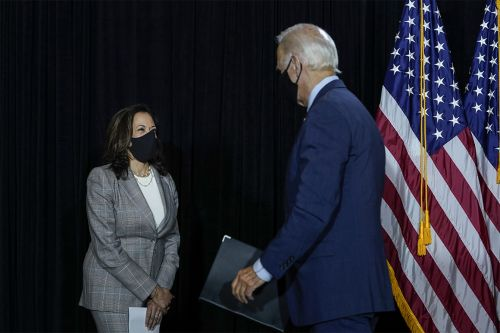 Biden, Harris call for all states to mandate masks after first joint Covid-19 briefing