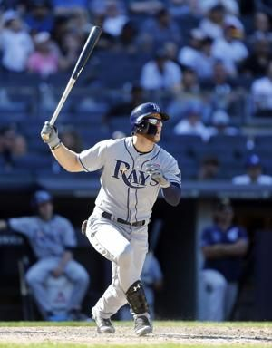 Meadows HR in 11th, Rays top Yanks 2-1, back into 1st place