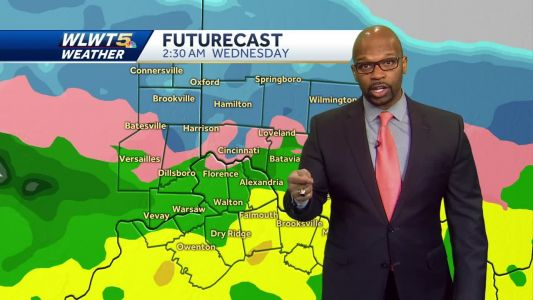 A Messy Storm Arrives For Wednesday