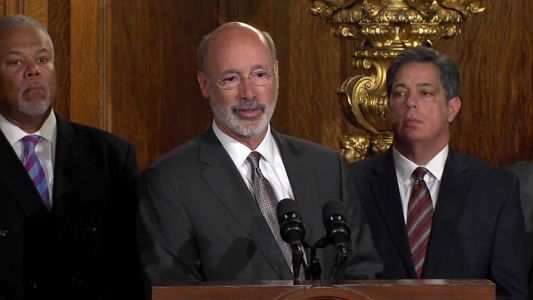 Gov. Wolf unveils gun violence effort in Pennsylvania, days after Philadelphia shooting