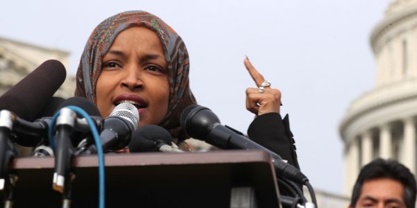 Peter King Blasts Ilhan Omar for Anti-Israel, Anti-Semitic Rhetoric, Questions Silence From Democrats